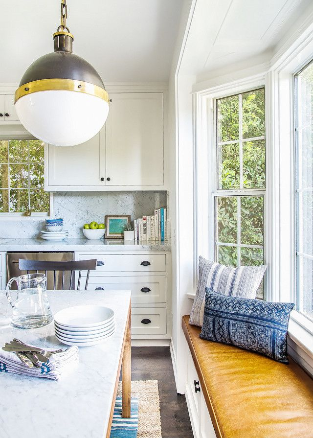 modern traditional kitchen, here's how to replicate the look via @MyDomaine