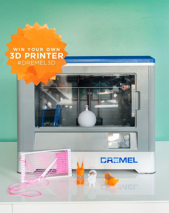 Create Your Own 3D Print Workshop. after you WIN your own 3D printer! Enter at Handmadecharlotte.com  #Dremel3D #giveaway