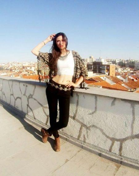 Marta Ribate Gracia en Glamour Street Fashion Show