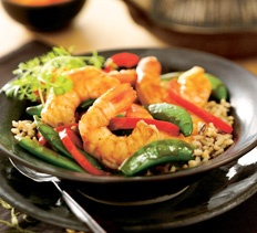 Hoisin Shrimp Stir-Fry from Cooking Club