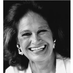 """Colleen Dewhurst warm hearted compassionate woman noted for opening line """"hi love"""" She always made sure the word love was in her acting lines."""