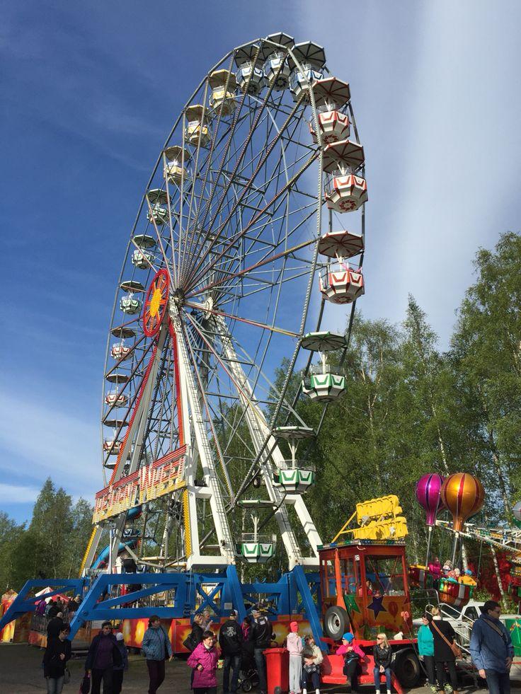 Suomen Tivoli in Hietasaari. Photo: Mauri Kuorilehto (2.6.2015).