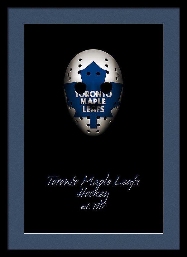 Toronto Maple Leafs Established Framed Print by Joe Hamilton