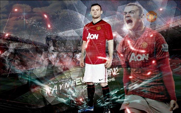 Wayne Rooney Man United 2012-2013 New Kit Wallpapers HD