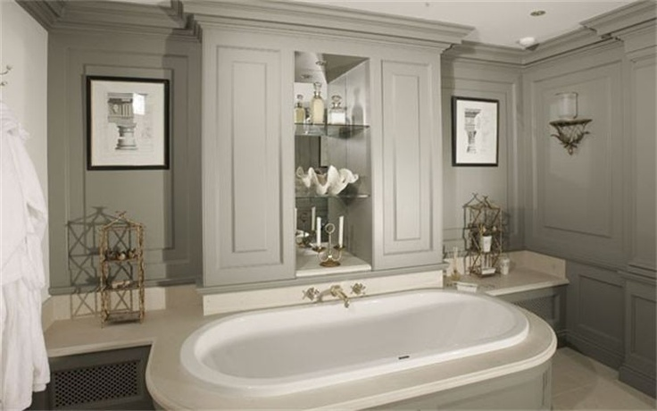 Best Manor House Gray Upstairs Bathrooms Handmade Kitchens 400 x 300