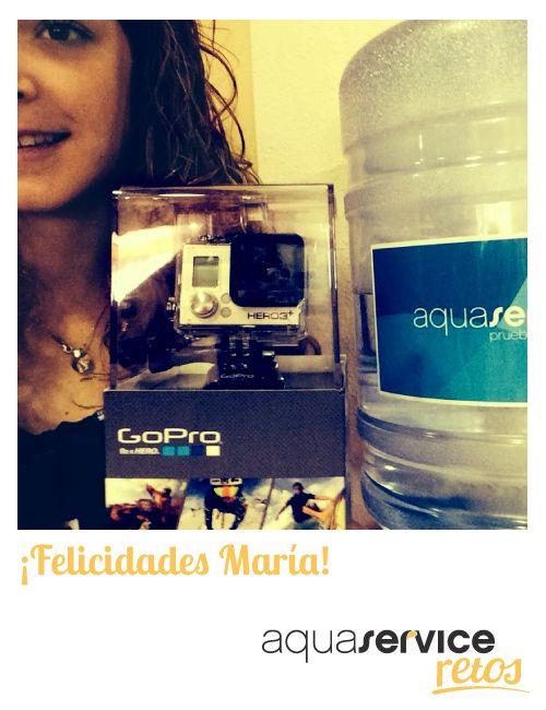 La ganadora de nuestra cámara de los #retosaquaservice nos ha enviado esta simpática foto. ¡Gracias, María!