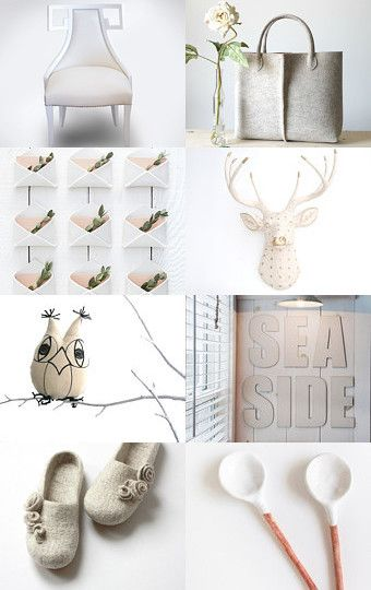 White Impressions by Mandarina on Etsy--Pinned with TreasuryPin.com
