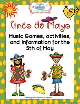 Celebrate Cinco de Mayo with songs, games, a fun stick dance, and the history