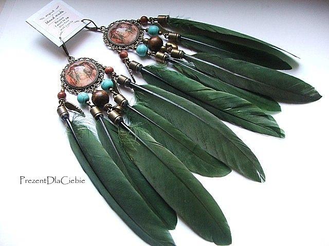 Kolczyki Piora Boho Etno Indianskie Lapacz Snow 7105484267 Oficjalne Archiwum Allegro Jewelry Belly Button Rings Rings