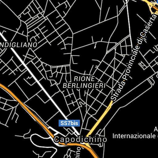 Naples Airport Map   Napoli Capodichino Airport