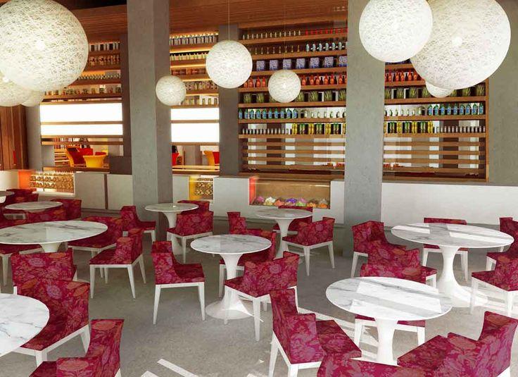 Cafe Interior Designing The Homey Design