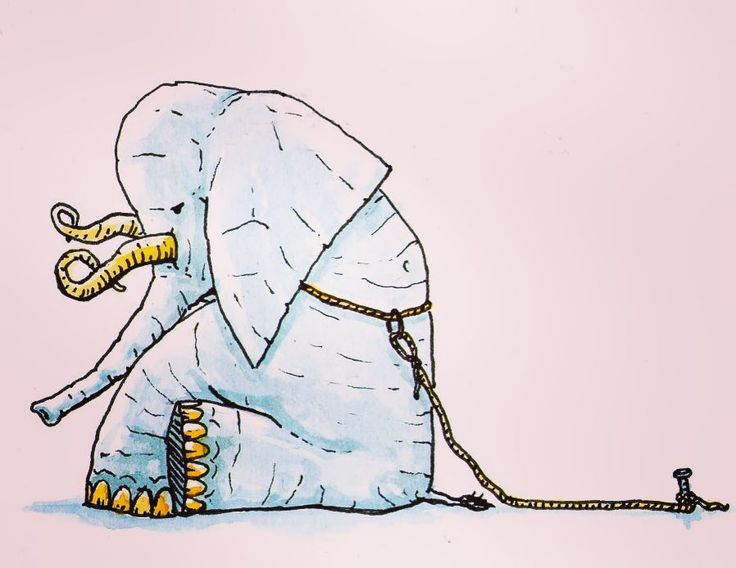 (III/MMXVII)EL ELEFANTE ENCADENADO -Jorge Bucay. De pequeño me gustaba el circo. Me encantaban los espectáculos con animales y el animal que más me gustaba era el elefante. Me impresionaban sus enormes dimensiones y su fuerza descomunal. Después de la función al salir de la carpa me quedaba extrañado al ver el animal atado a una pequeña estaca clavada en el suelo con una cadena que le aprisionaba una de las patas. La cadena era gruesa pero la estaca era un ridículo trozo de madera clavado a…