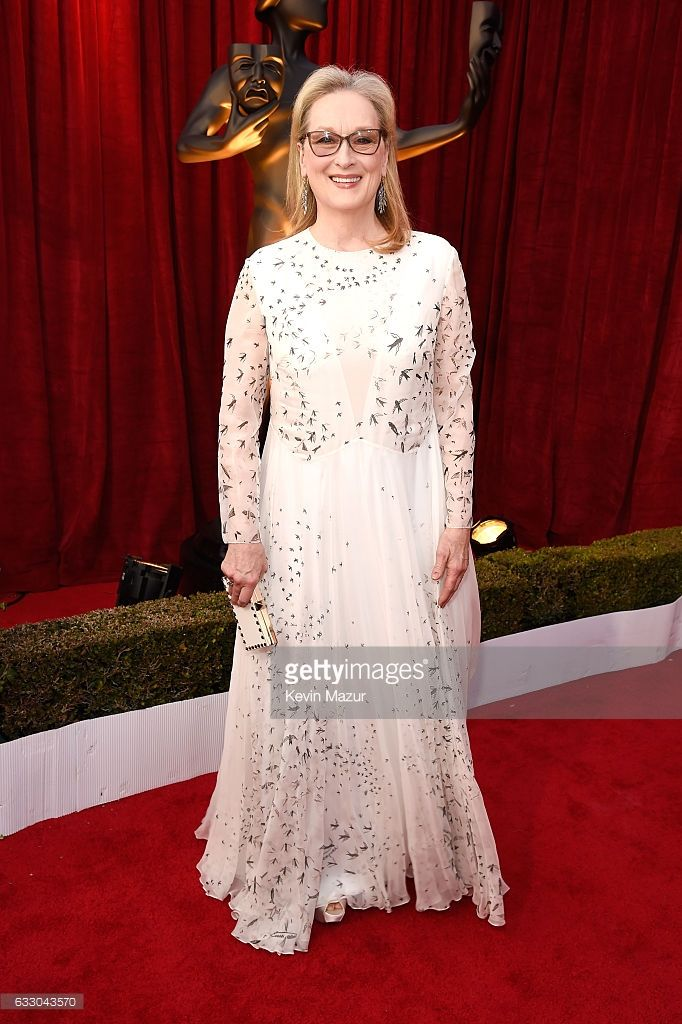 Actor Meryl Streep attends The 23rd Annual Screen Actors Guild Awards at The Shrine Auditorium on January 29, 2017 in Los Angeles, California. 26592_011