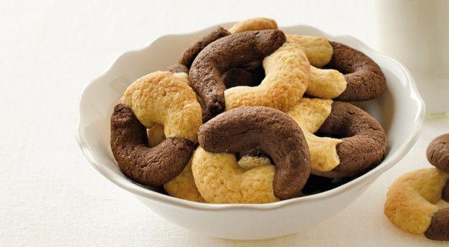 Biscotti panna e cacao | Alice.tv