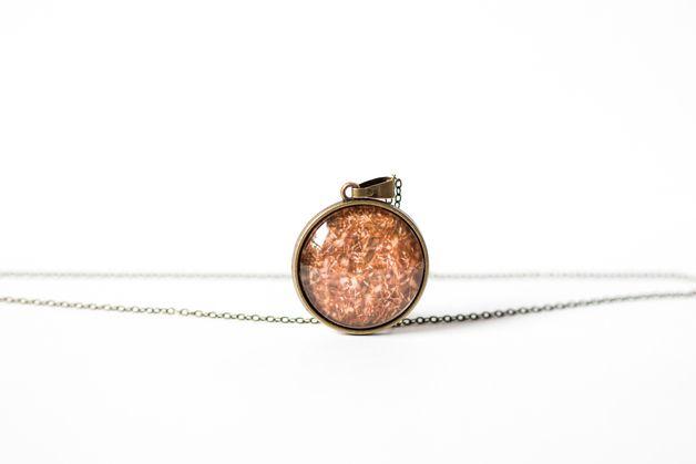 Naszyjnik ze złotą trawą/Golden Grass Necklace