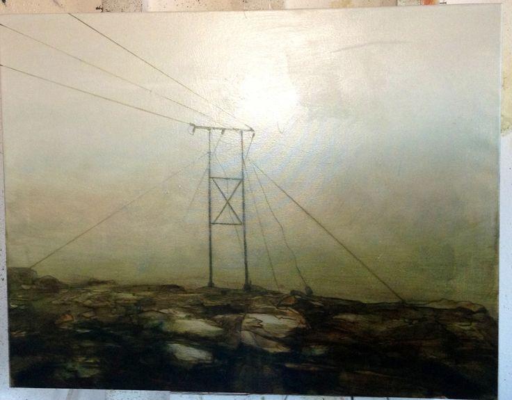 Mist I Oil on canvas 75x100