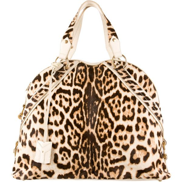 Pre-owned Yves Saint Laurent Leopard Muse Bag ($675) ? liked on ...