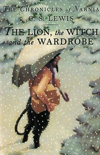 The Lion, the Witch and the Wardrobe - Chris Van Allsburg cover illustration