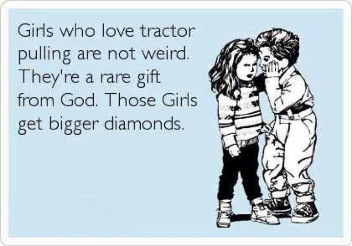 I ♥ tractor pulls!!!