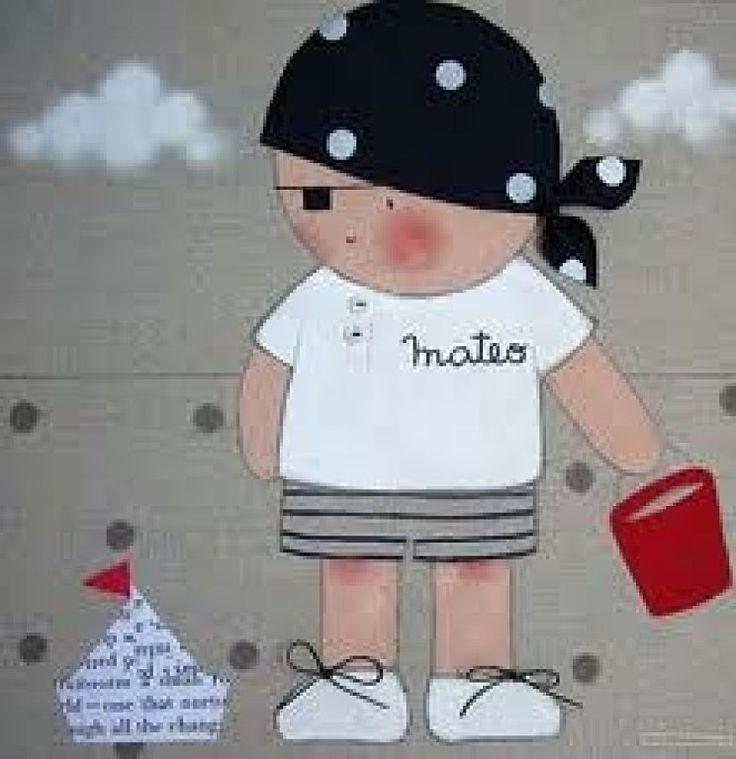 HOLA CHICAS, NECESITO DE VUESTRA AYUDA !!!!!PIRATAS INFANTILES!!!!! | Aprender manualidades es facilisimo.com