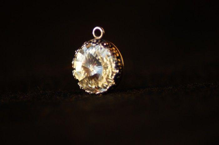 Pendente swarovski rotondo cristallo 4
