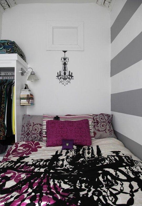les 25 meilleures id es de la cat gorie murs ray s gris sur pinterest rayures grises chambres. Black Bedroom Furniture Sets. Home Design Ideas