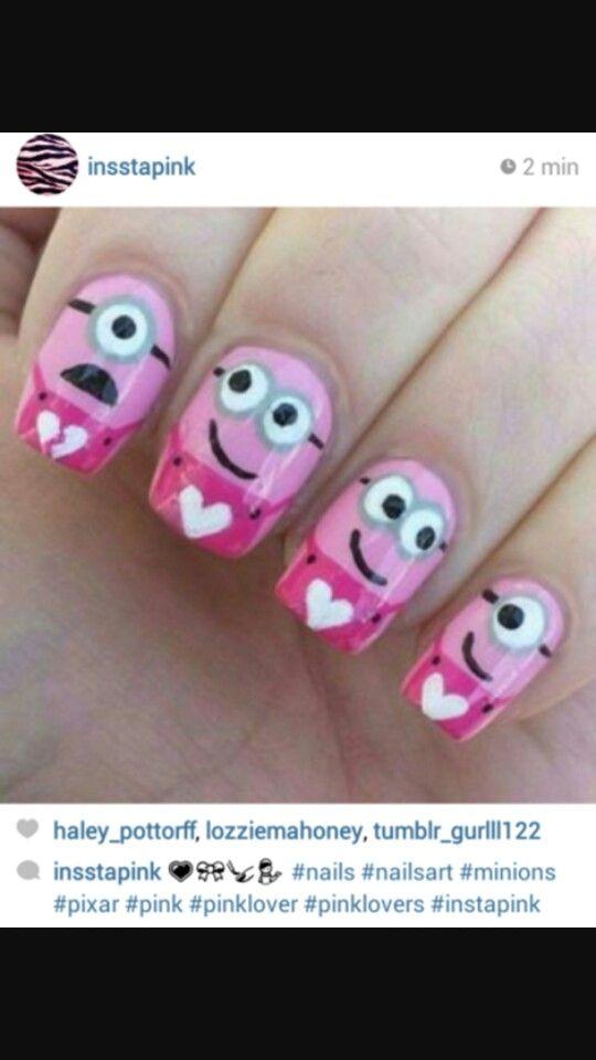 Minions rosa