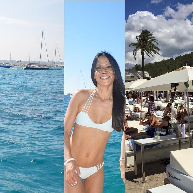 One of my favorite spots in Ibiza, Blue Marlin is the coolest beach club on the island. Click through to find out why