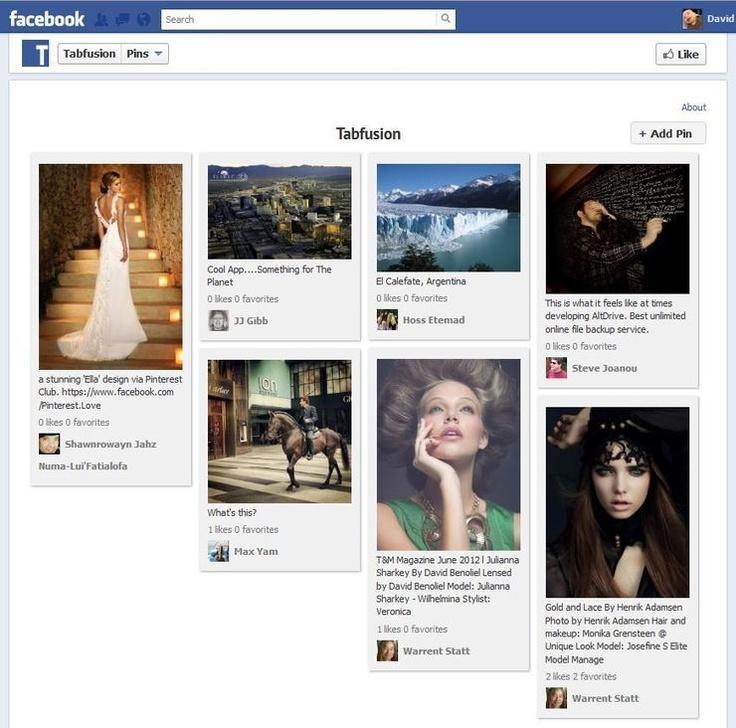 17 Best Pinterest Facebook Tab Images On Pinterest