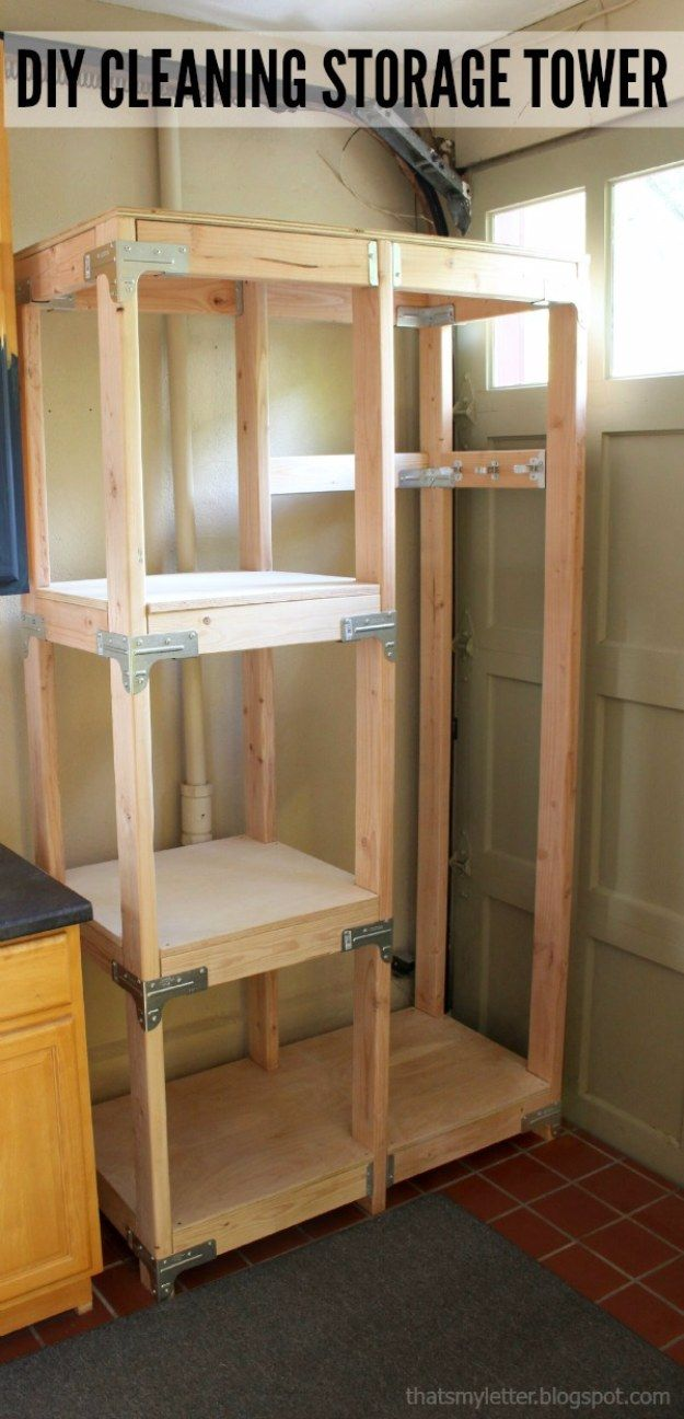 Diy projects your garage needs diy garage storage towers do it - 36 Diy Ideas You Need For Your Garage