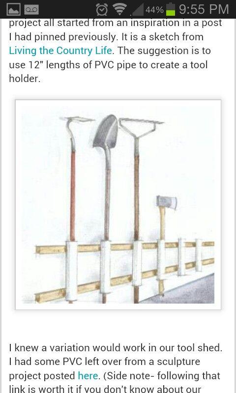 Yard Tool Holder
