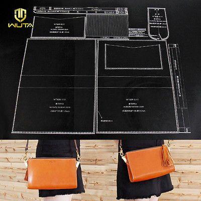 Wuta женский одиночный наплечная сумка акриловый шаблон кожаный узор комплект WT826