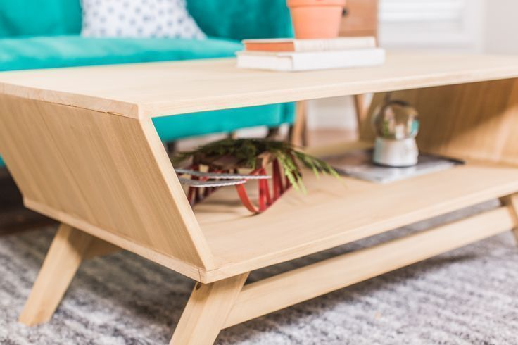 Get Free Plans To Build This Mid Century Modern Coffee Table