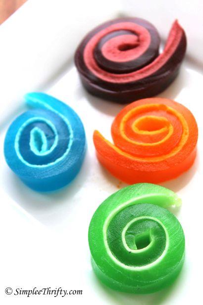 Marshmallow Jello Pinwheels - Simplee Thrifty