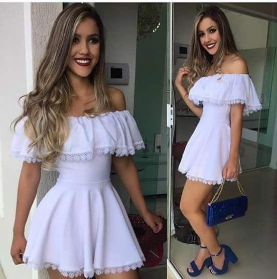 Vestido Ciganinha - Moda Feminina