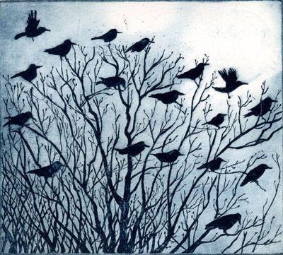 Janis Goodman. Birds Watching