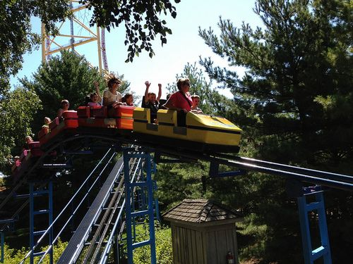Jr gemini roller coaster - photo#20
