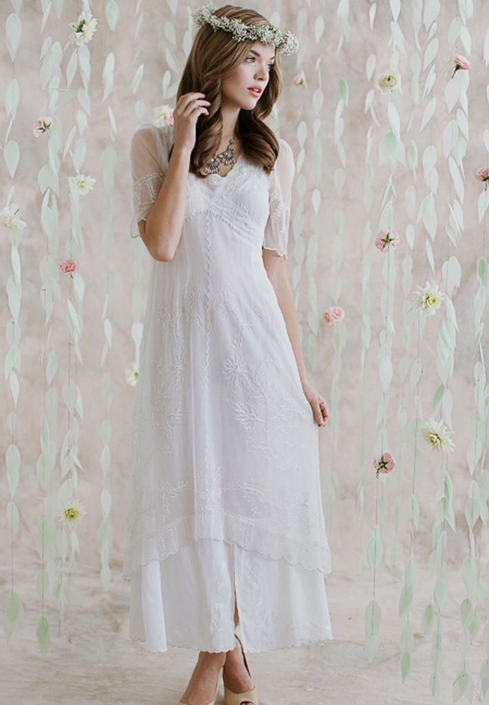 Ruche Vintage Inspired Wedding Dresses For Your Second Marriage