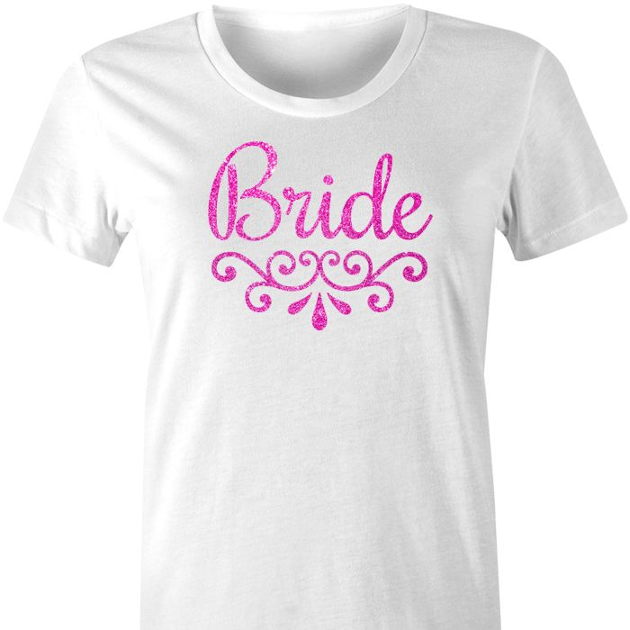 Bride TShirt with Filigree