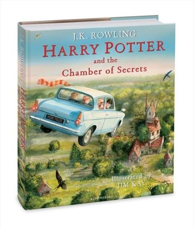 Illustrated Edition - Harry Potter and The Chamber Of Secrets