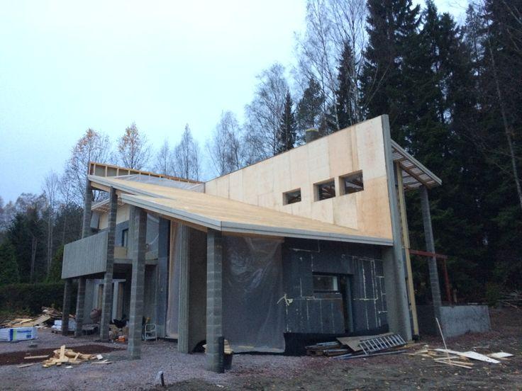 #potius #architecture #rooftop #concrete #elements #betoni #building #construction