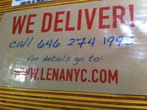 Lena Latin Grill, pour déjeuner à New York
