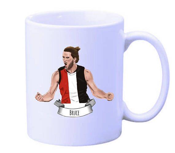 Josh Bruce St Kilda Saints mug