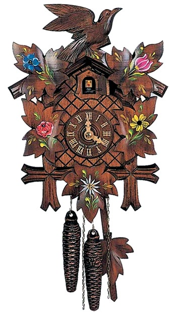 48 best coo coo clock images on pinterest coo coo clock cuckoo clocks and antique clocks - Colorful cuckoo clock ...