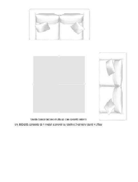 il design di Vincenzo Cacopardo : si studia un tavolo a scopo multifunzionale