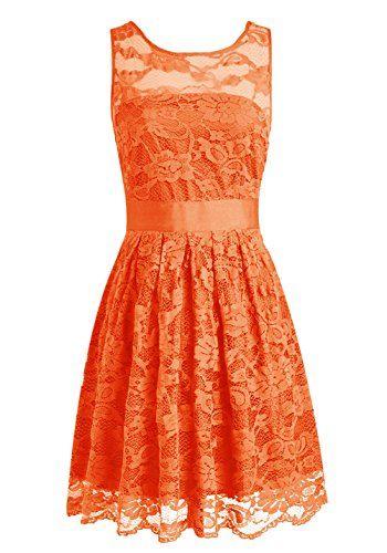 Wedtrend Floral Lace Dress Bridesmaid Dress Short Homecoming Dress Size 2 Orange Wedtrend http://www.amazon.com/dp/B011TXBCXU/ref=cm_sw_r_pi_dp_D8AYvb0ZRDTKV