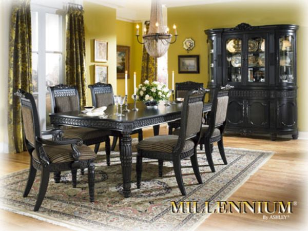 Britannia Rose Dining Set Ashley Furniture   My NEW Dining Set!! Thank You  Craigslist