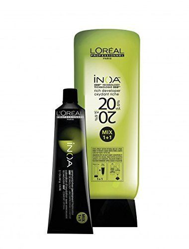 L'Oreal Inoa Professionnel -Ammonia Free- Hair Color Tubes - 6 Tubes-1000 Ml -- This is an Amazon Affiliate link. Click image to review more details.
