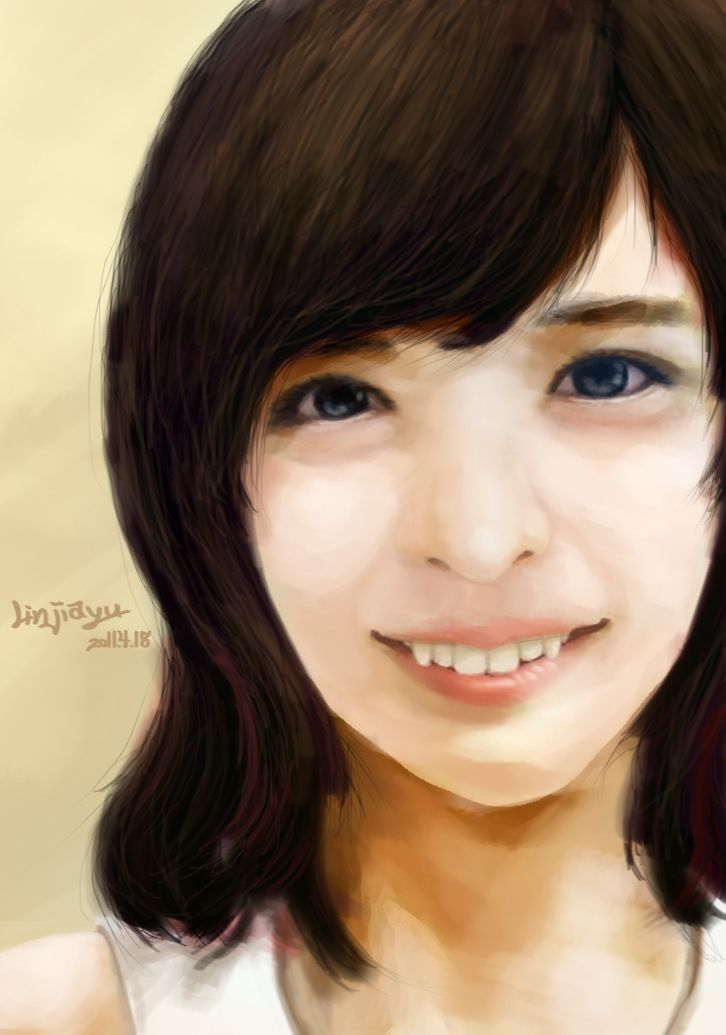 F A C E practice design sketch photoshop draw painting art face