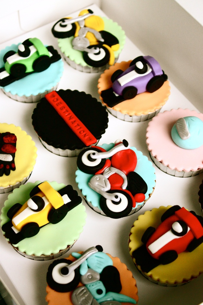 Best Cars Cakes Images On Pinterest Car Cupcakes Cupcake